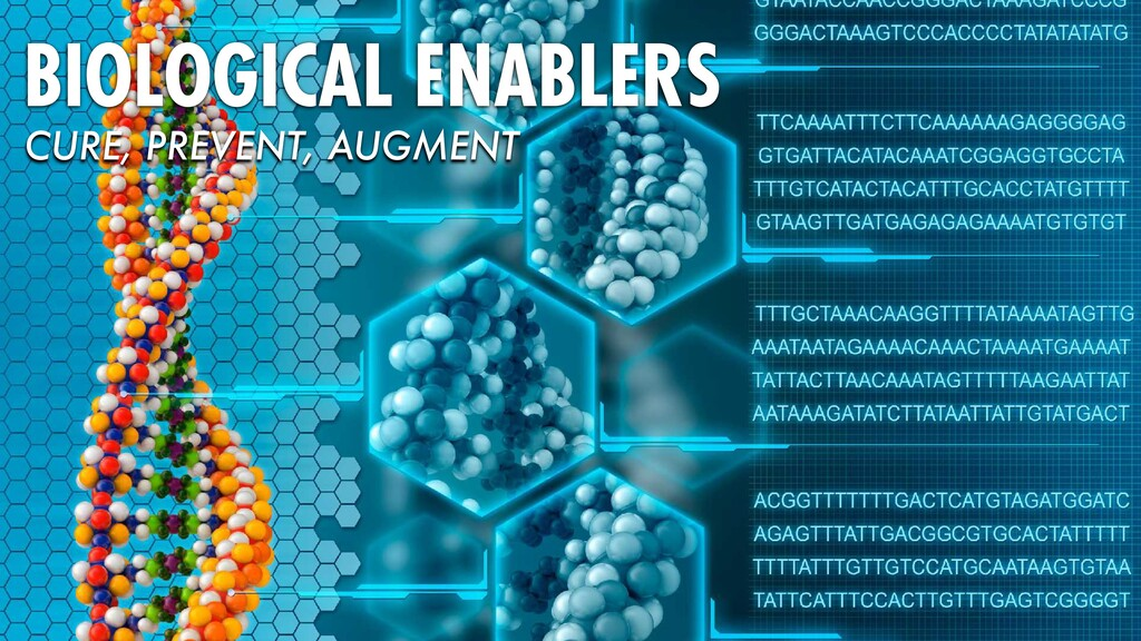 BIOLOGICAL ENABLERS CURE, PREVENT, AUGMENT