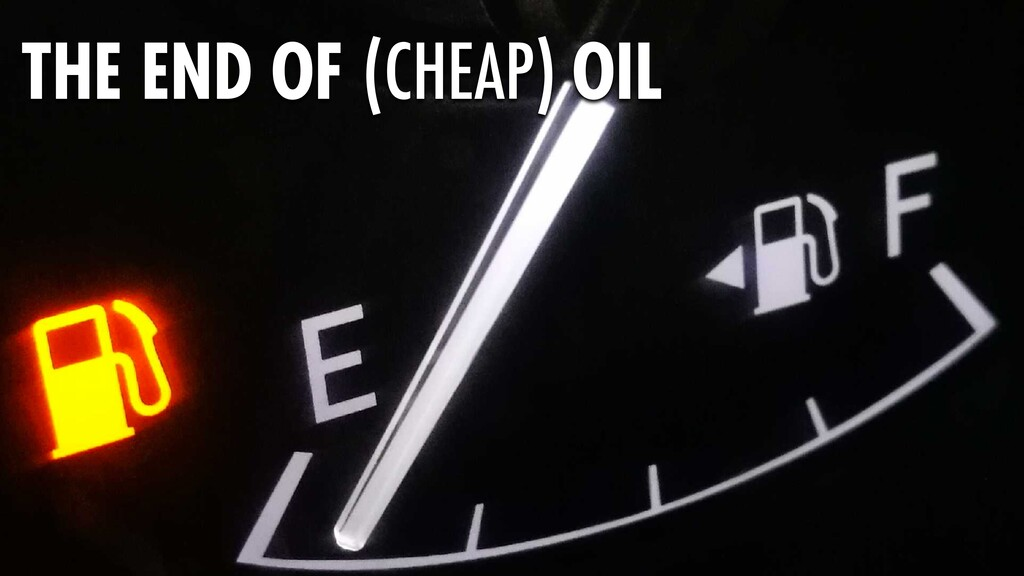 320 THE END OF (CHEAP) OIL