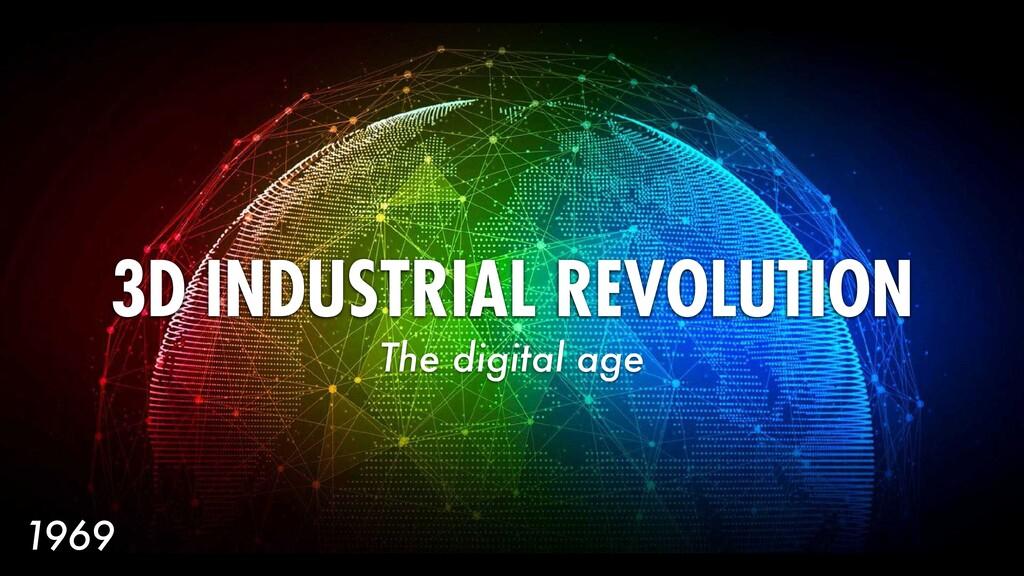 168 3D INDUSTRIAL REVOLUTION The digital age 19...