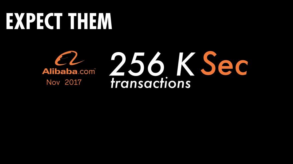 256 K Sec Nov 2017 transactions EXPECT THEM