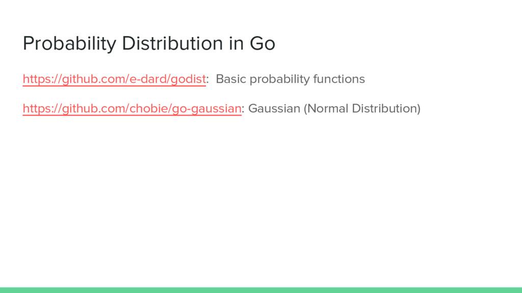 Probability Distribution in Go https://github.c...