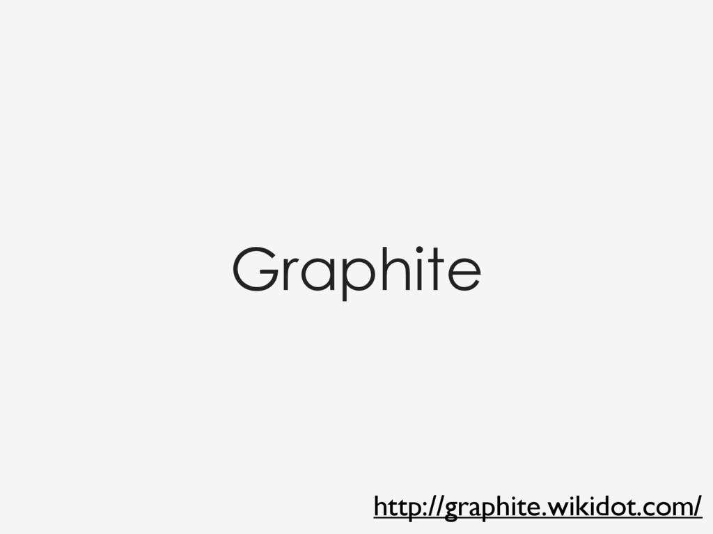 Graphite http://graphite.wikidot.com/