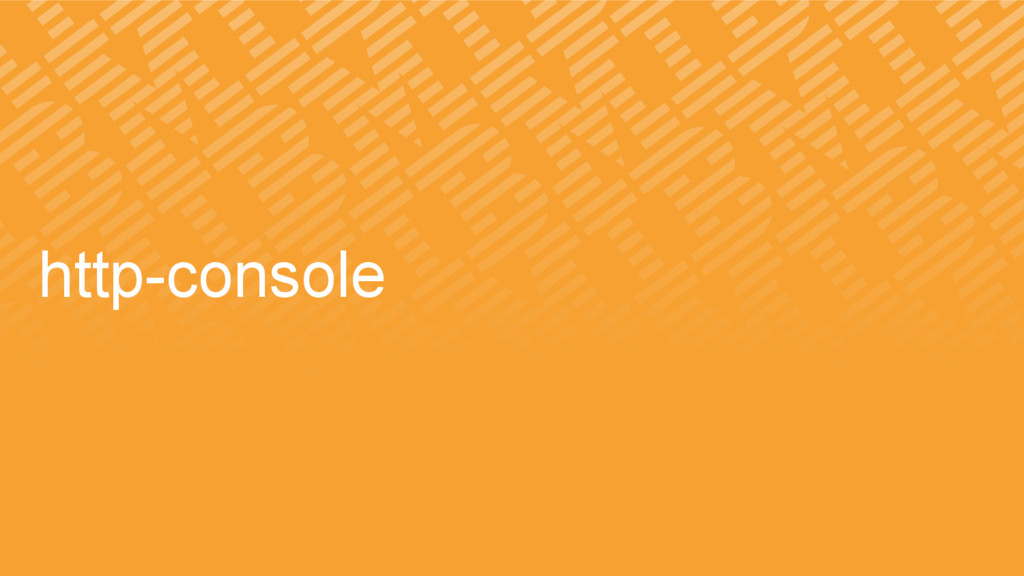 http-console