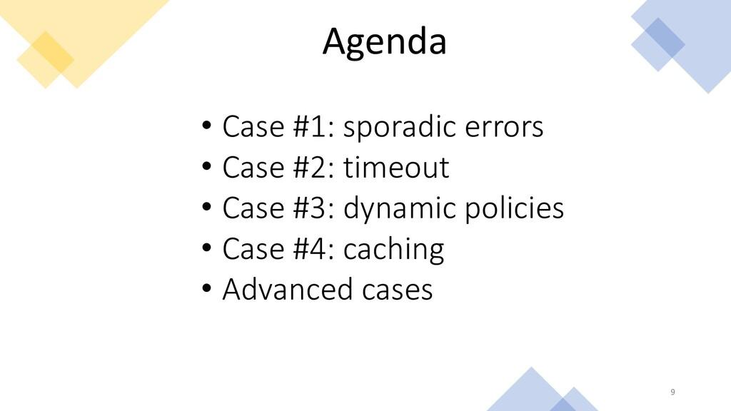 Agenda • Case #1: sporadic errors • Case #2: ti...
