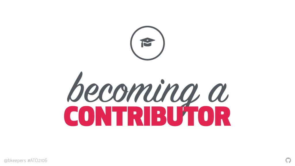 """"""" @bkeepers #ATO2106 becoming a CONTRIBUTOR ! #"""