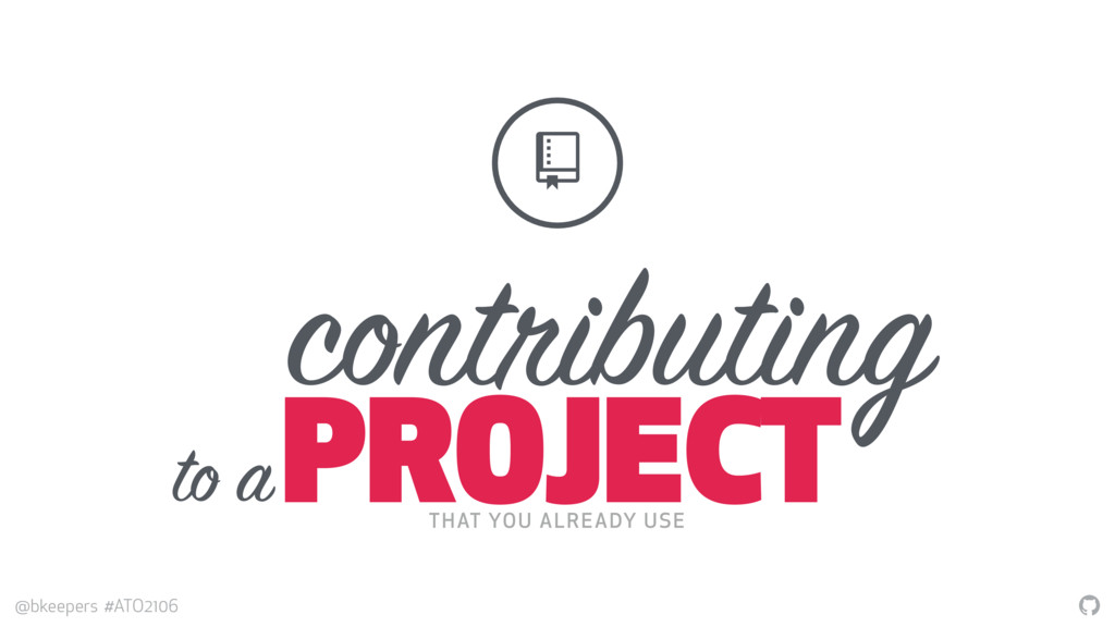 """"""" @bkeepers #ATO2106 contributing PROJECT $ THA..."""