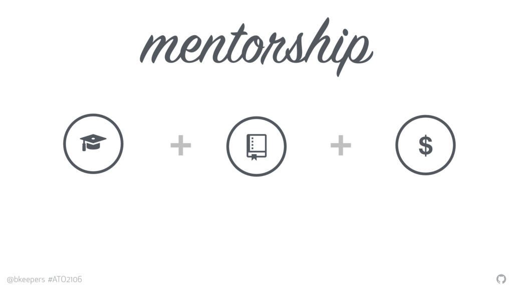 """"""" @bkeepers #ATO2106 mentorship + + # $ $"""