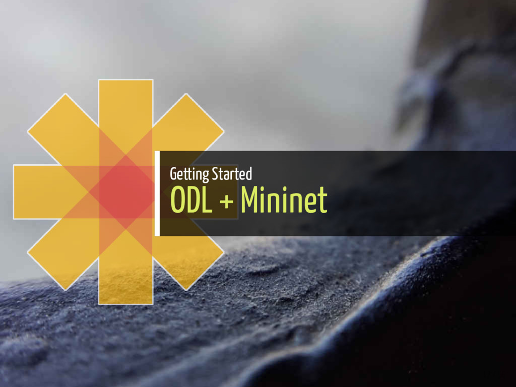Getting Started ODL + Mininet 12 / 56