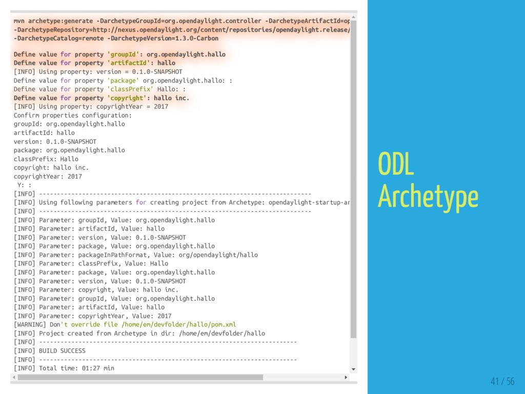 mvn archetype:generate -DarchetypeGroupId=org.o...