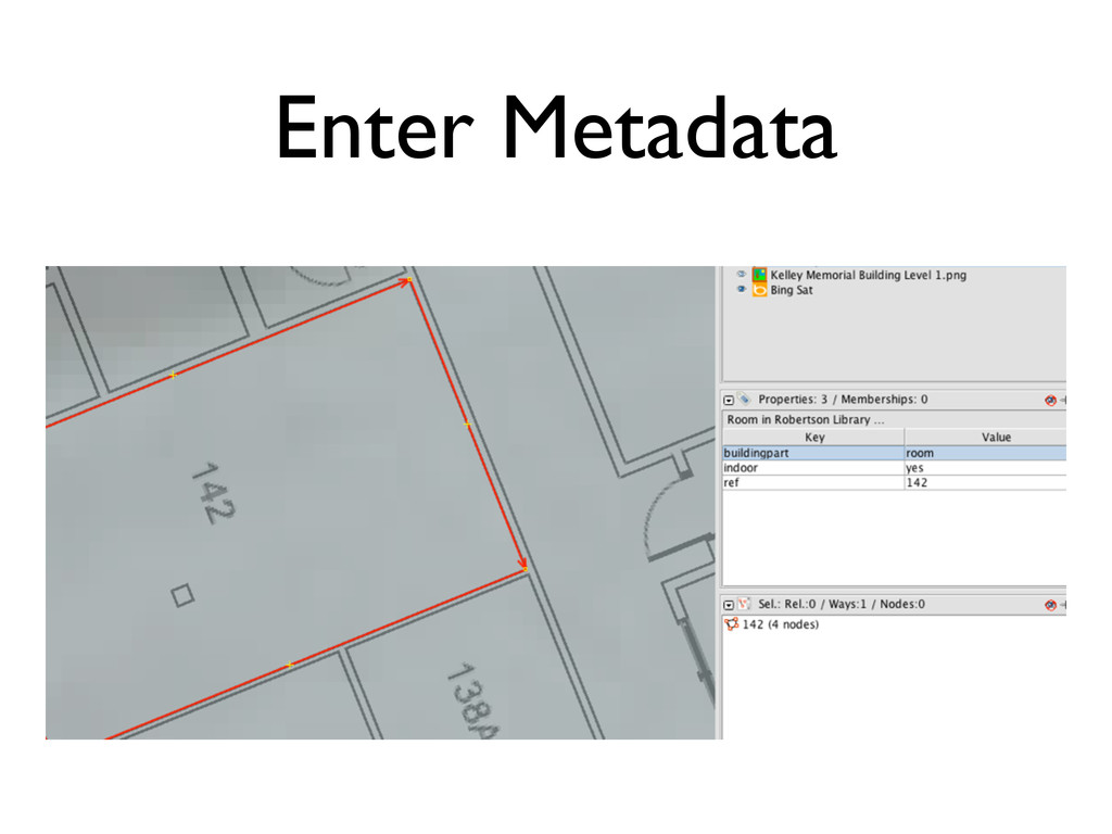 Enter Metadata