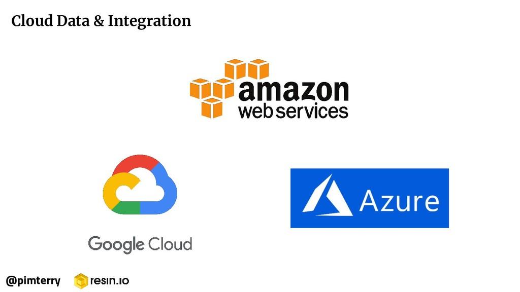 Cloud Data & Integration @pimterry