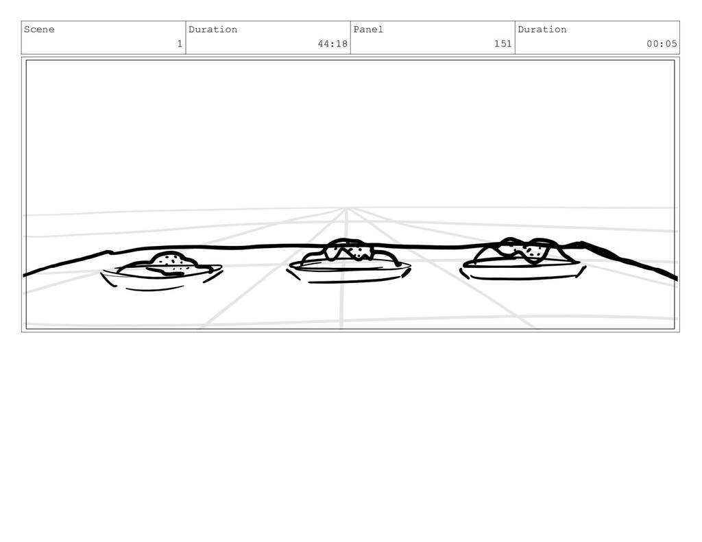 Scene 1 Duration 44:18 Panel 151 Duration 00:05