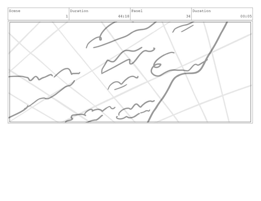 Scene 1 Duration 44:18 Panel 34 Duration 00:05