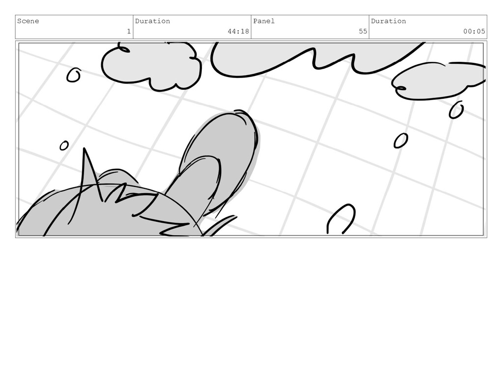 Scene 1 Duration 44:18 Panel 55 Duration 00:05