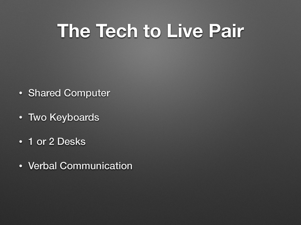 The Tech to Live Pair • Shared Computer • Two K...