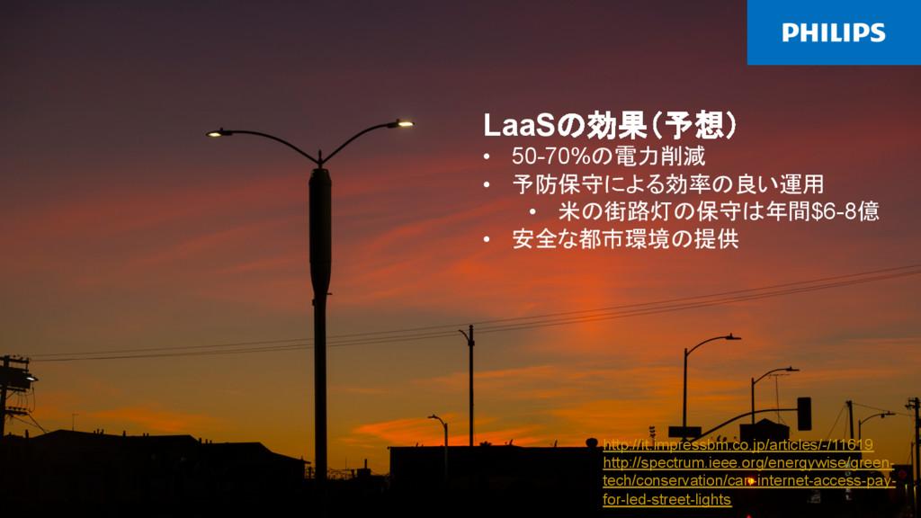 2015/12/8 IoTイントロダクション 40 LaaSの効果(予想) •...