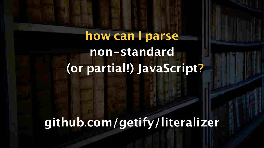 non-standard (or partial!) JavaScript github.co...
