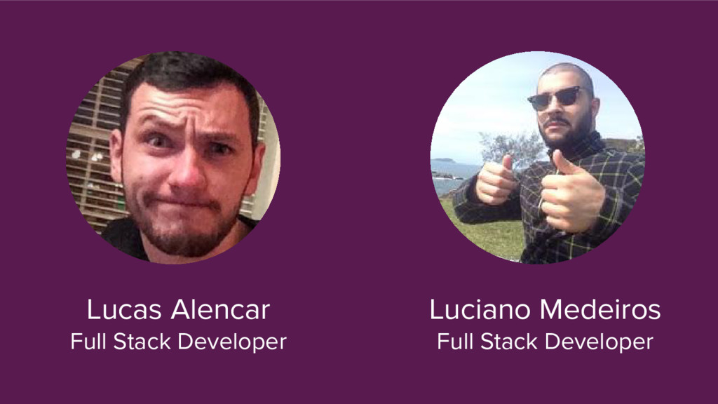 Lucas Alencar Full Stack Developer Luciano Mede...