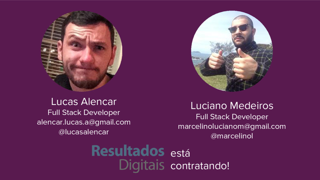 Lucas Alencar Full Stack Developer alencar.luca...