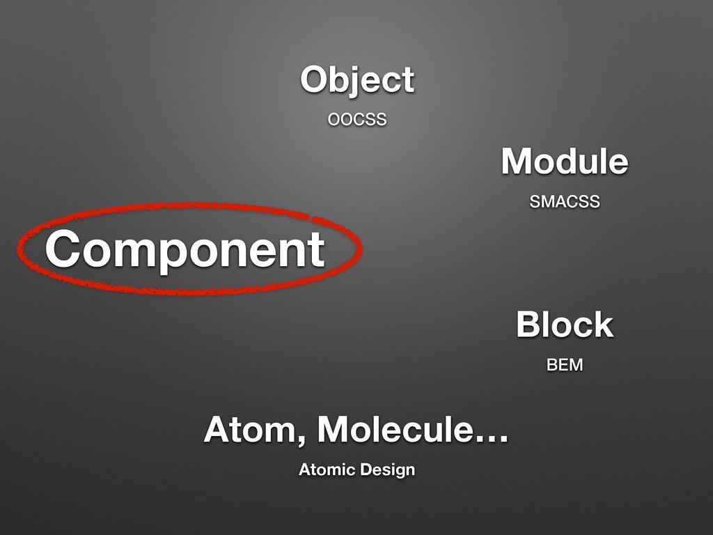 Component Atom, Molecule… Atomic Design Module ...