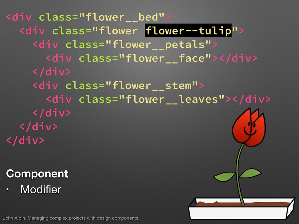 """<div class=""""flower__bed""""> <div class=""""flower fl..."""
