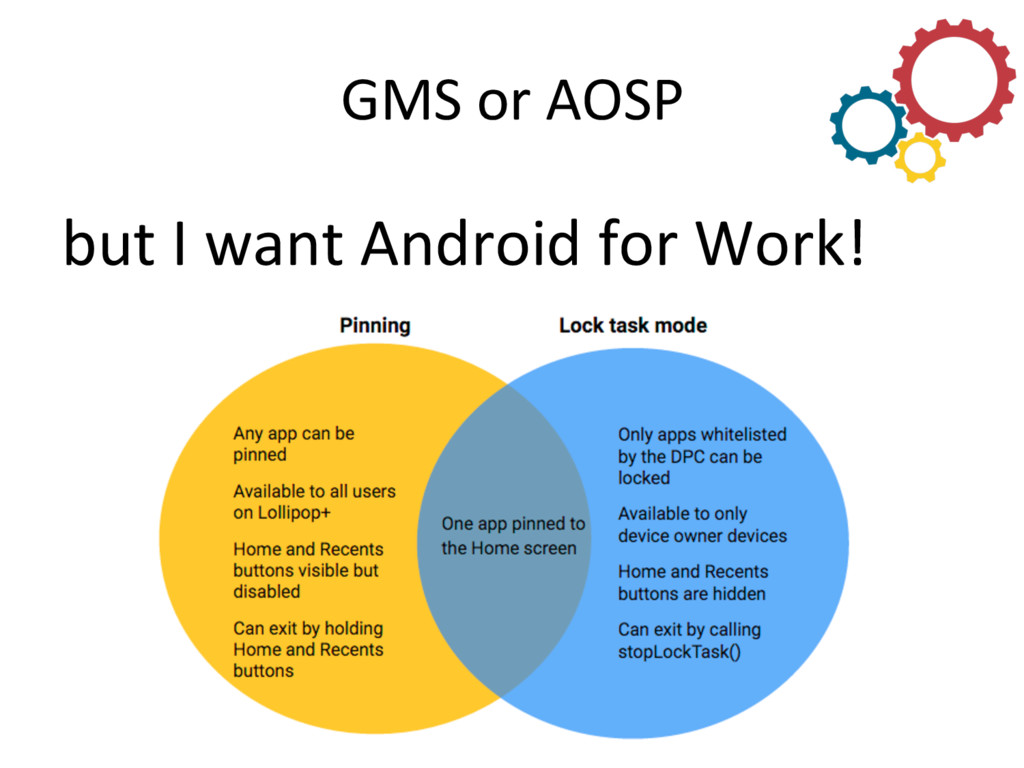 GMS or AOSP  but I want Andro...
