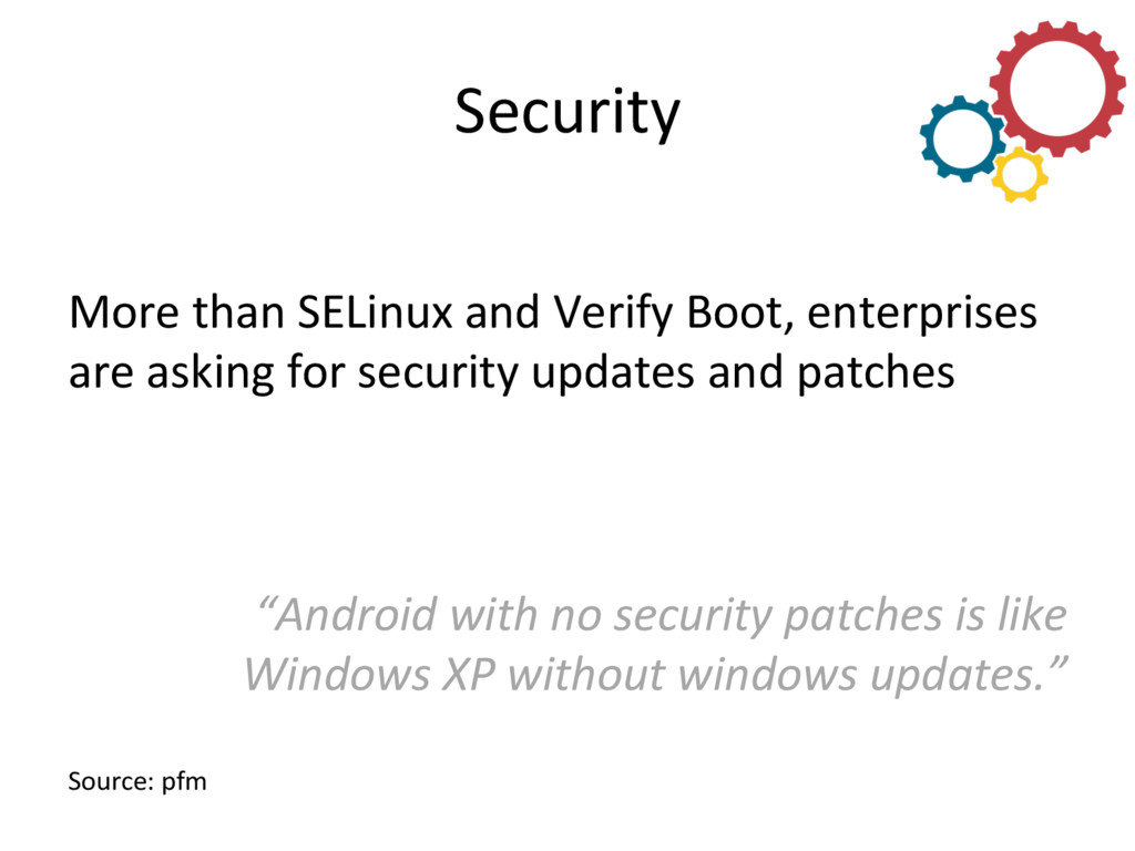 Security  More than SELinux and ...