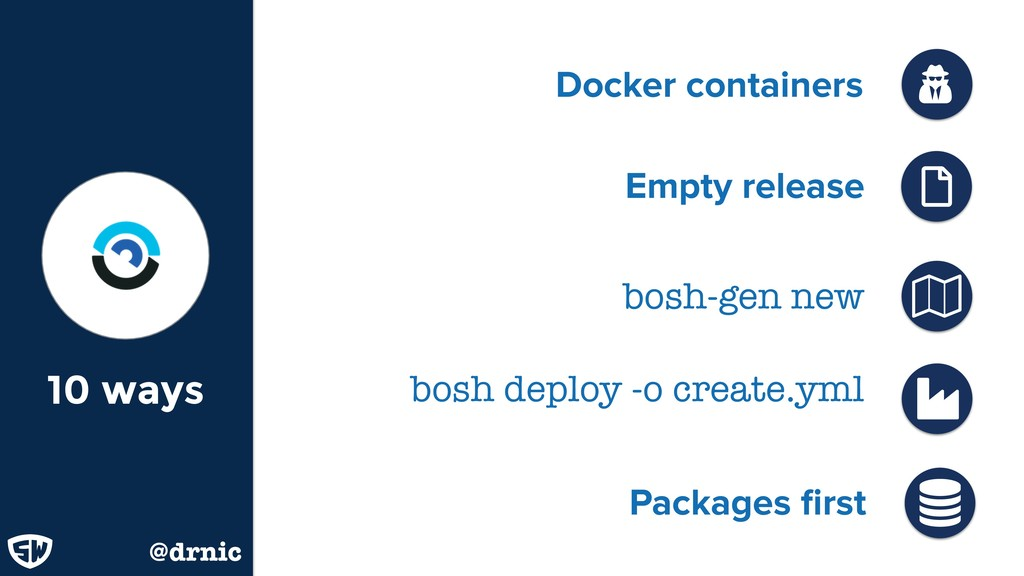 Docker containers Ǻ 10 ways Packages first  @dr...