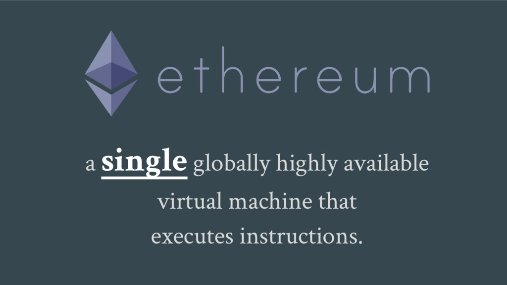 a single globally highly available virtual mach...