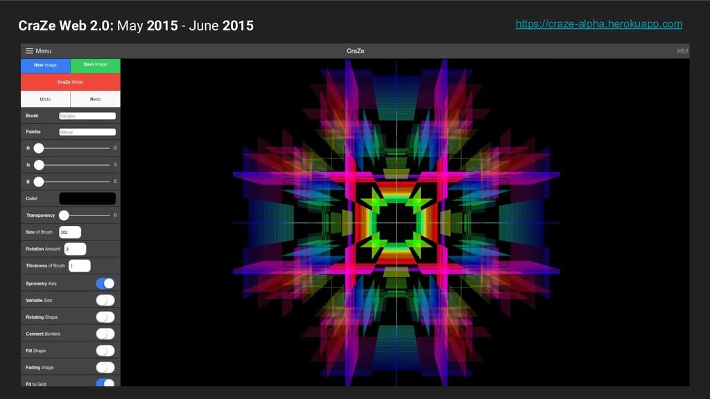 CraZe Web 2.0: May 2015 - June 2015 https://cra...