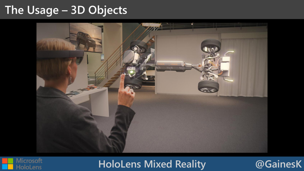 HoloLens Mixed Reality @GainesK The Usage – 3D ...
