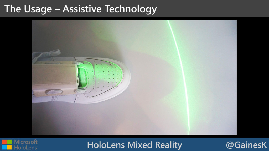 HoloLens Mixed Reality @GainesK The Usage – Ass...