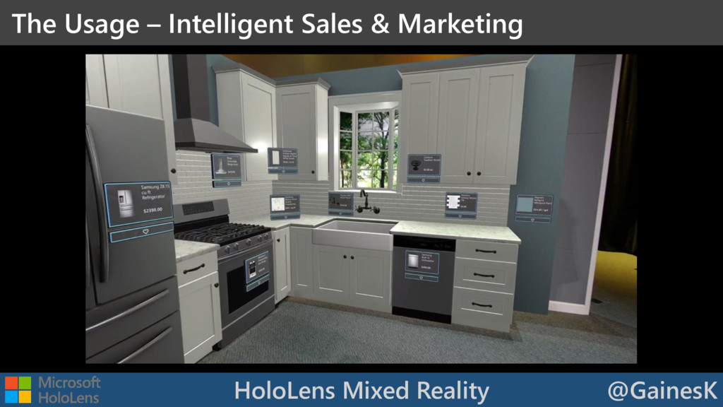 HoloLens Mixed Reality @GainesK The Usage – Int...