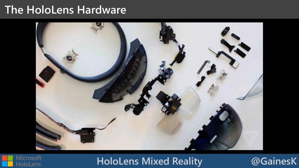 HoloLens Mixed Reality @GainesK The HoloLens Ha...