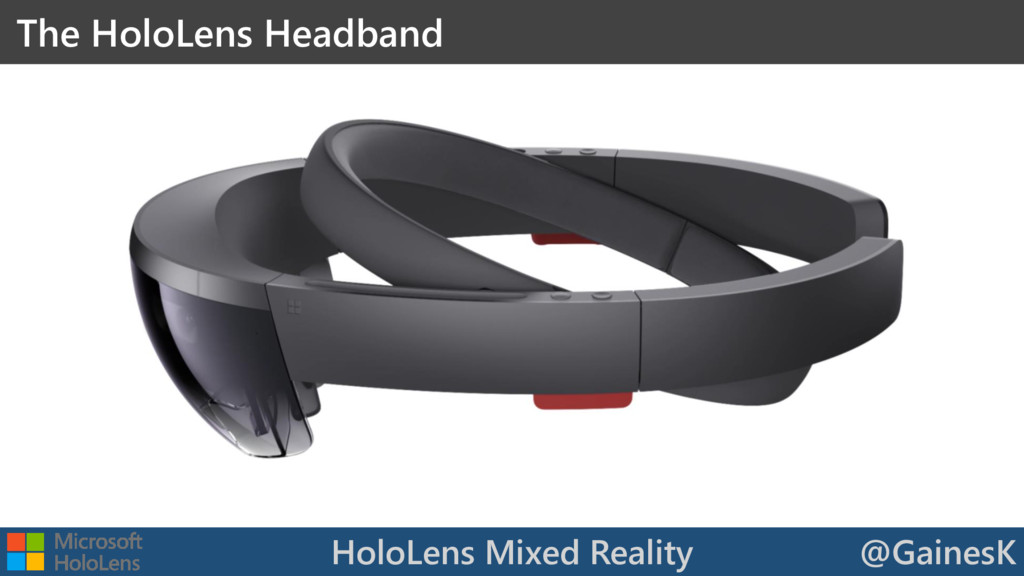 HoloLens Mixed Reality @GainesK The HoloLens He...