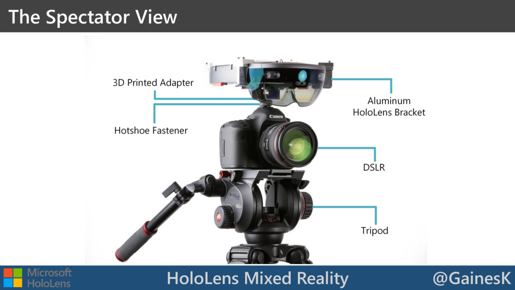 HoloLens Mixed Reality @GainesK The Spectator V...