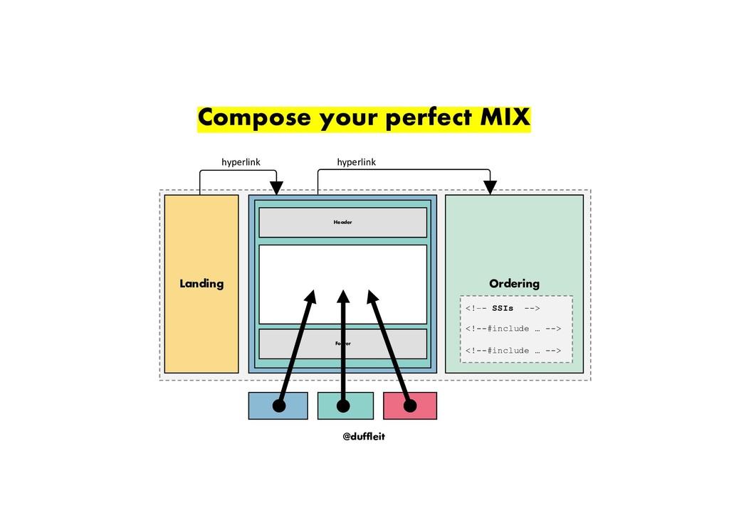 @duffleit Compose your perfect MIX Landing Shop...