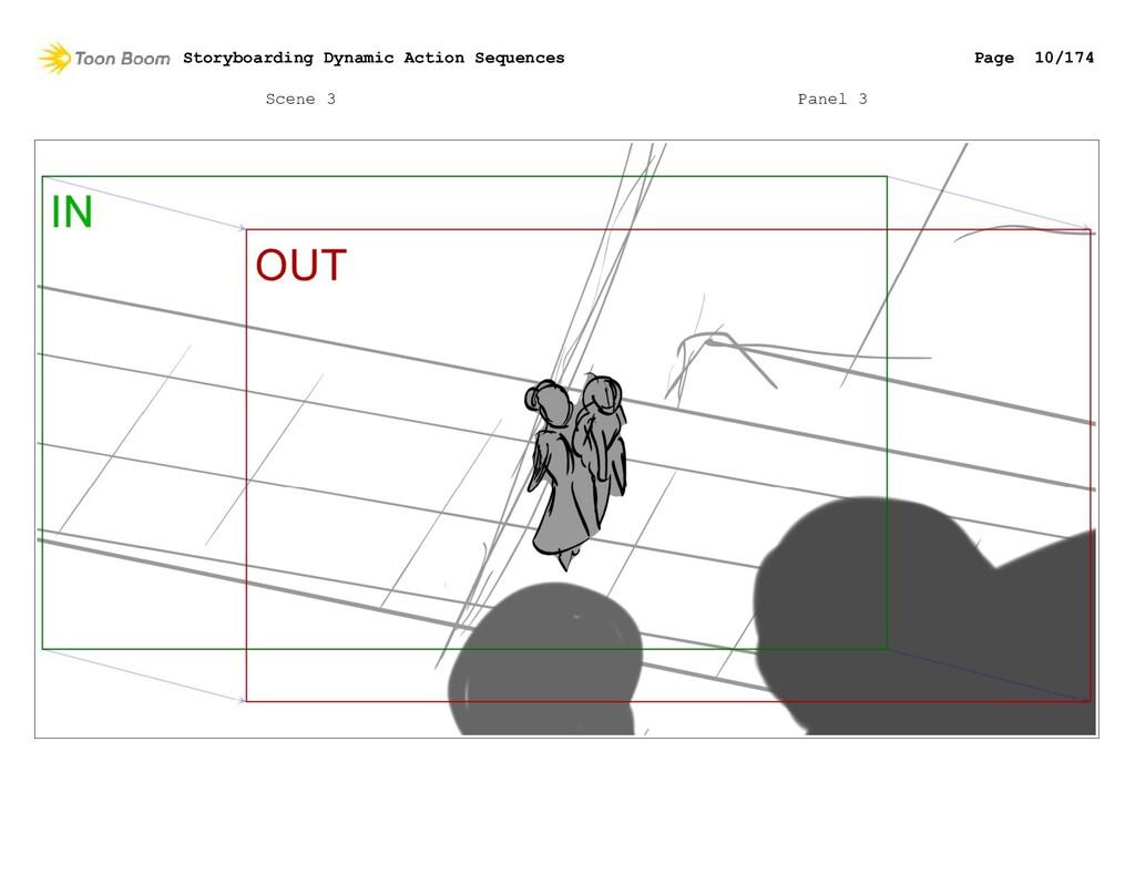 Scene 3 Panel 3 Storyboarding Dynamic Action Se...