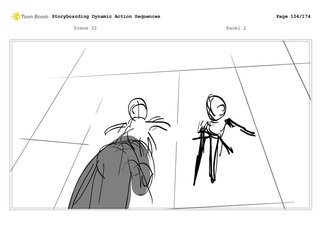 Scene 32 Panel 2 Storyboarding Dynamic Action S...