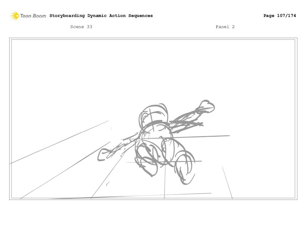 Scene 33 Panel 2 Storyboarding Dynamic Action S...