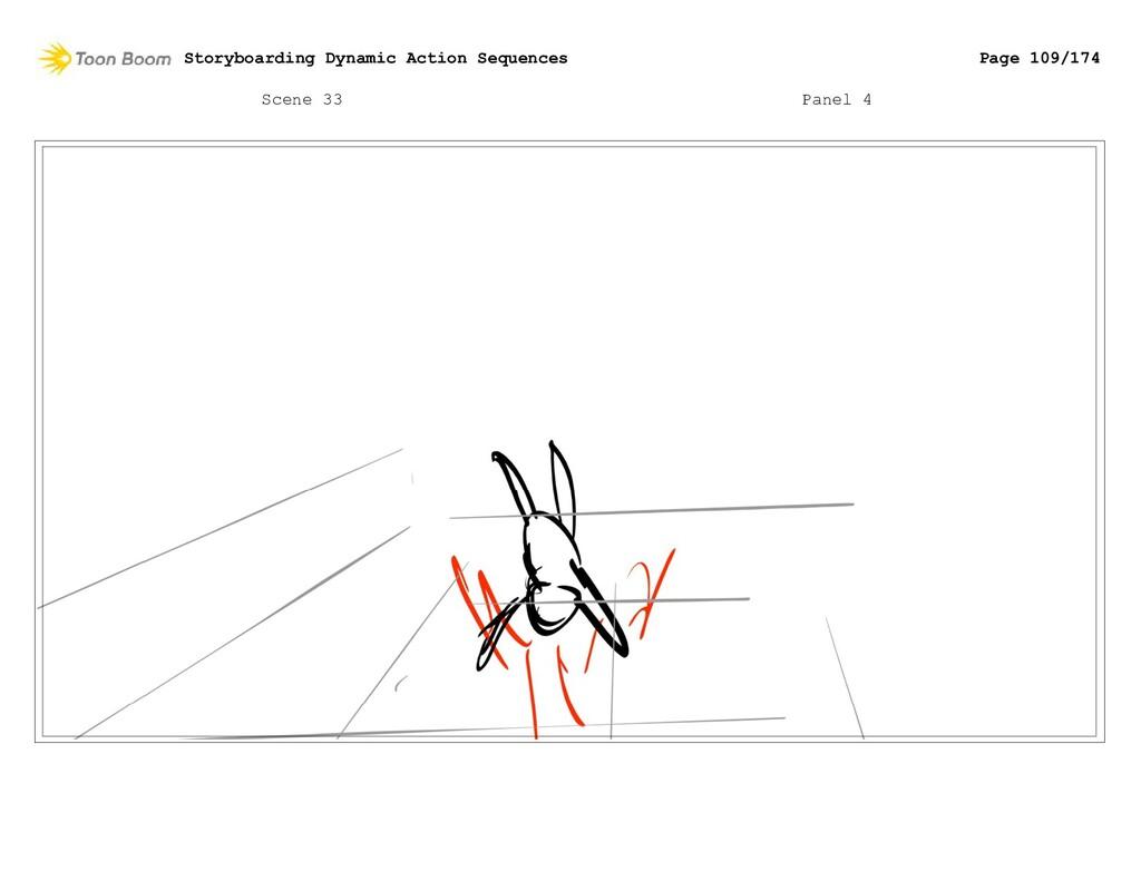 Scene 33 Panel 4 Storyboarding Dynamic Action S...