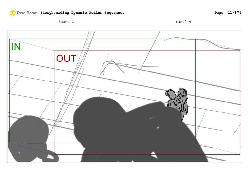 Scene 3 Panel 4 Storyboarding Dynamic Action Se...