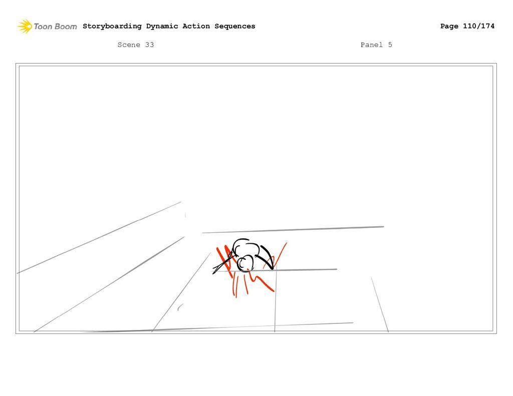 Scene 33 Panel 5 Storyboarding Dynamic Action S...