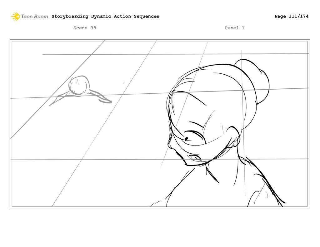 Scene 35 Panel 1 Storyboarding Dynamic Action S...