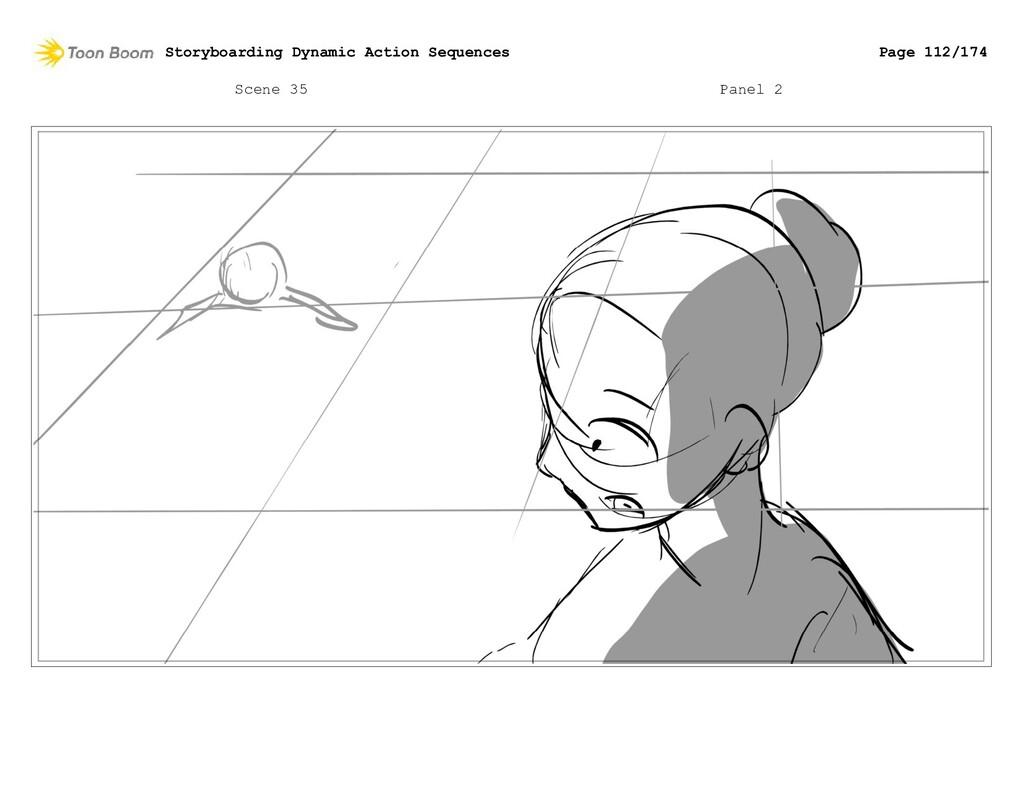 Scene 35 Panel 2 Storyboarding Dynamic Action S...