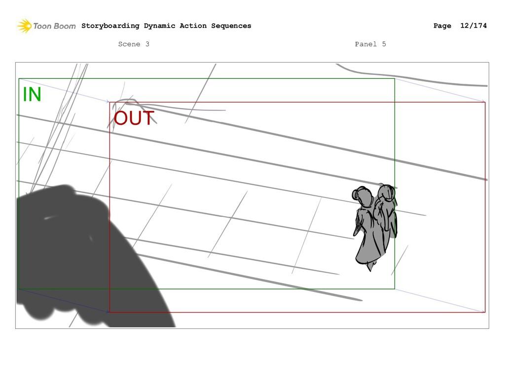 Scene 3 Panel 5 Storyboarding Dynamic Action Se...