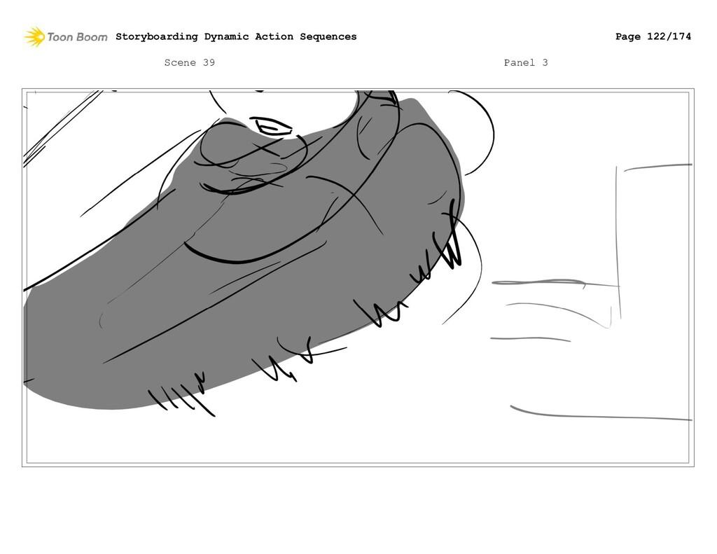 Scene 39 Panel 3 Storyboarding Dynamic Action S...