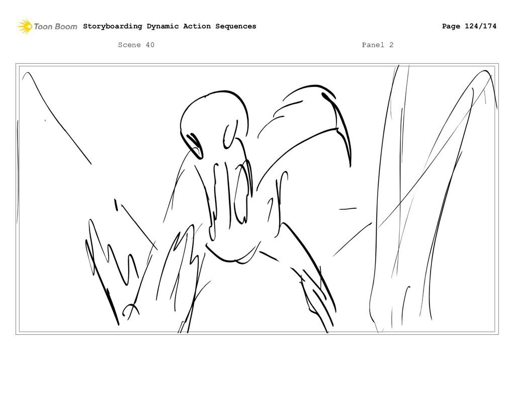 Scene 40 Panel 2 Storyboarding Dynamic Action S...