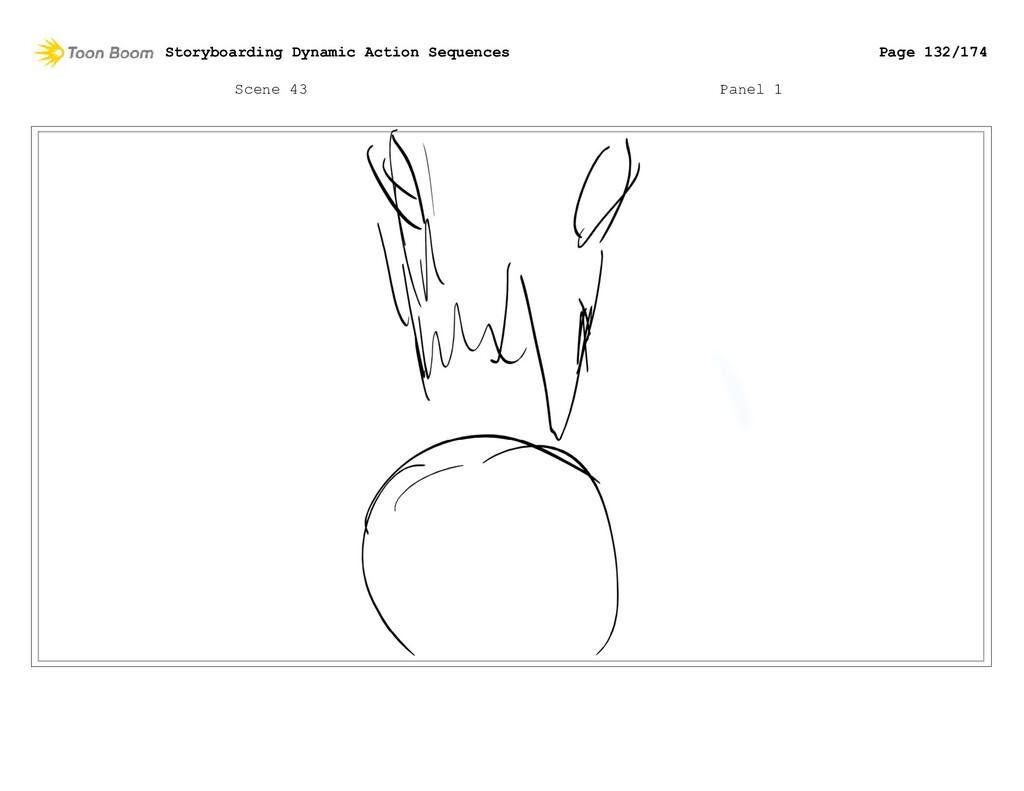 Scene 43 Panel 1 Storyboarding Dynamic Action S...