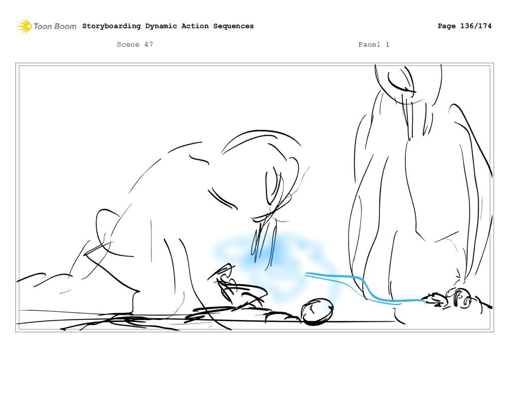 Scene 47 Panel 1 Storyboarding Dynamic Action S...